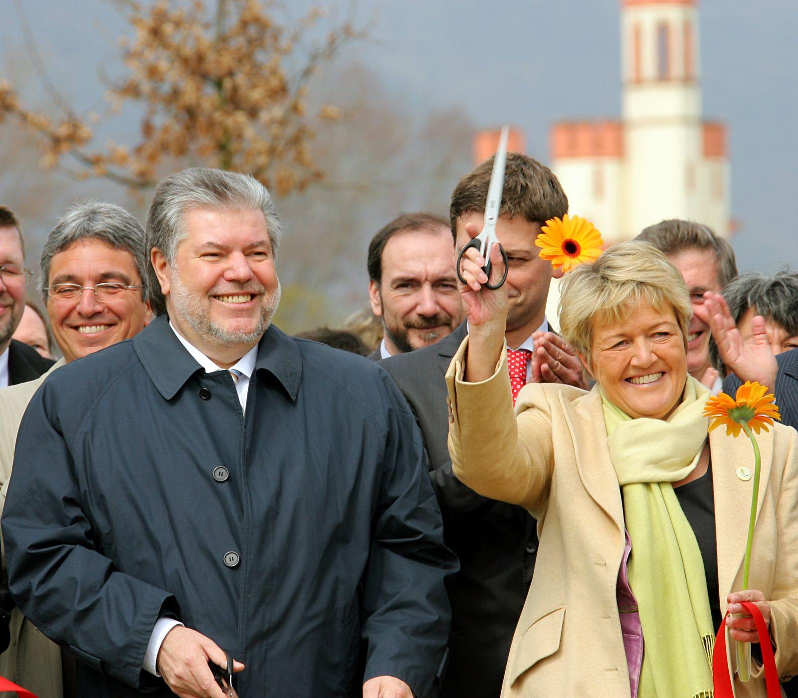 Eröffnung Landesgartenschau in Bingen - Beck und Collin-Langen