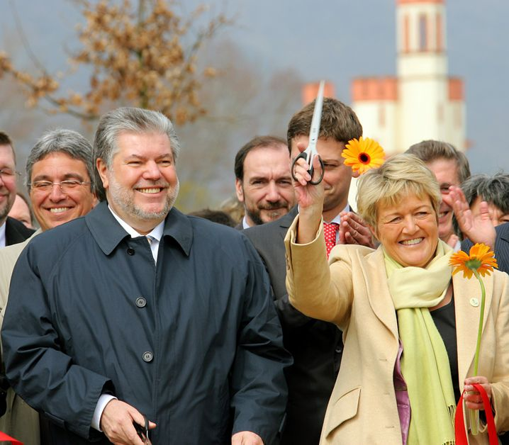 Birgit Collin-Langen in Bingen (2008): Änderungsanträge im Sinne von RWE?