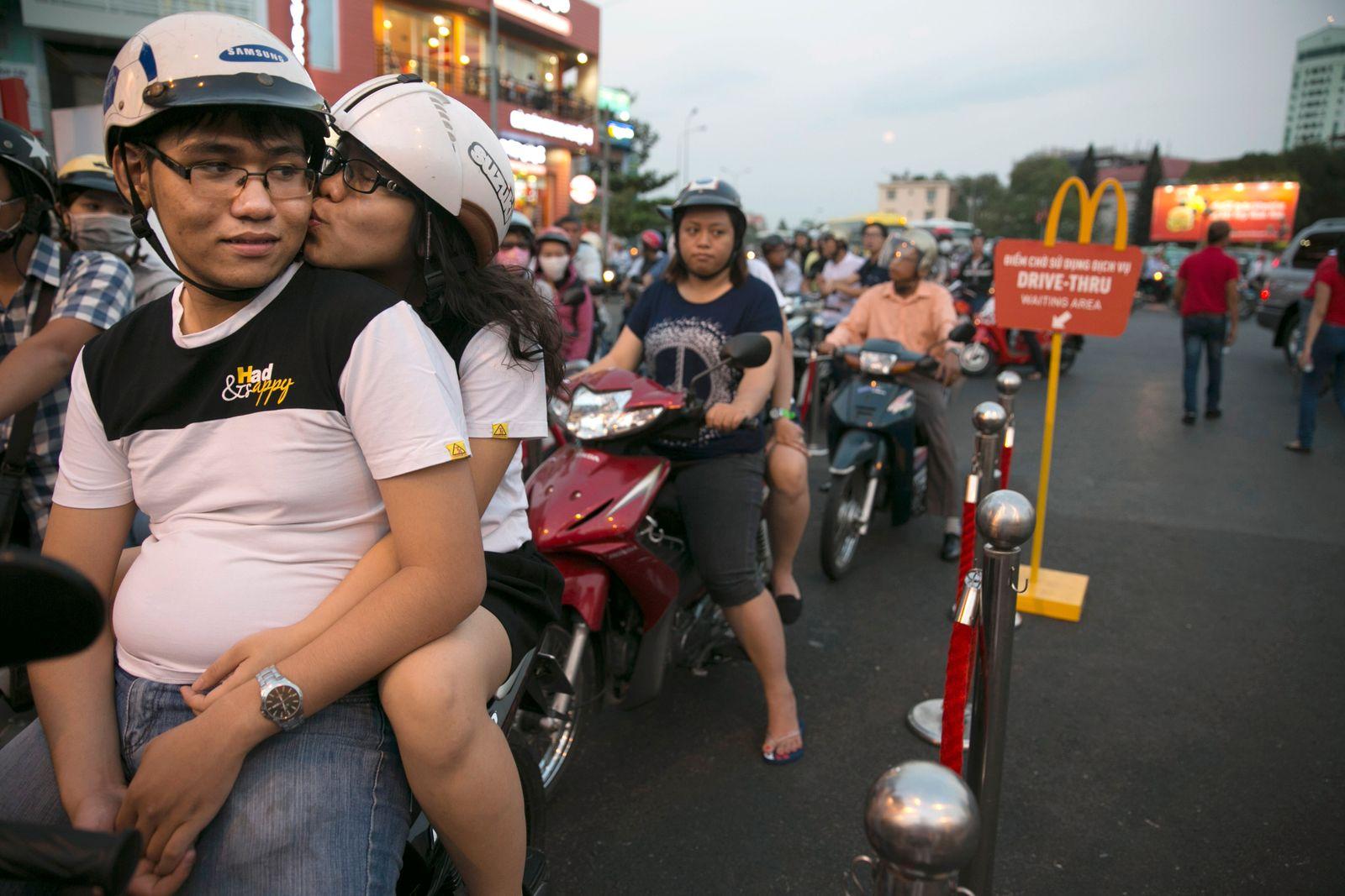 Vietnam's First Ever McDonald's