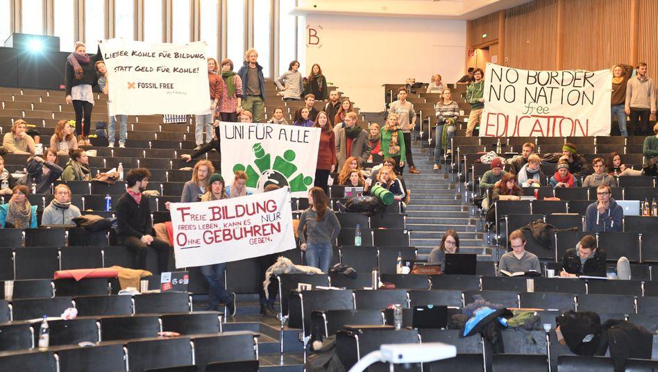 Hörsaalbesetzung in Freiburg (Archiv)