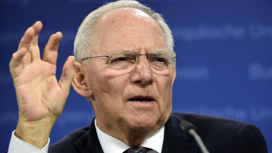 Finanzminister Schäuble: Varoufakis macht ihm das Leben schwer