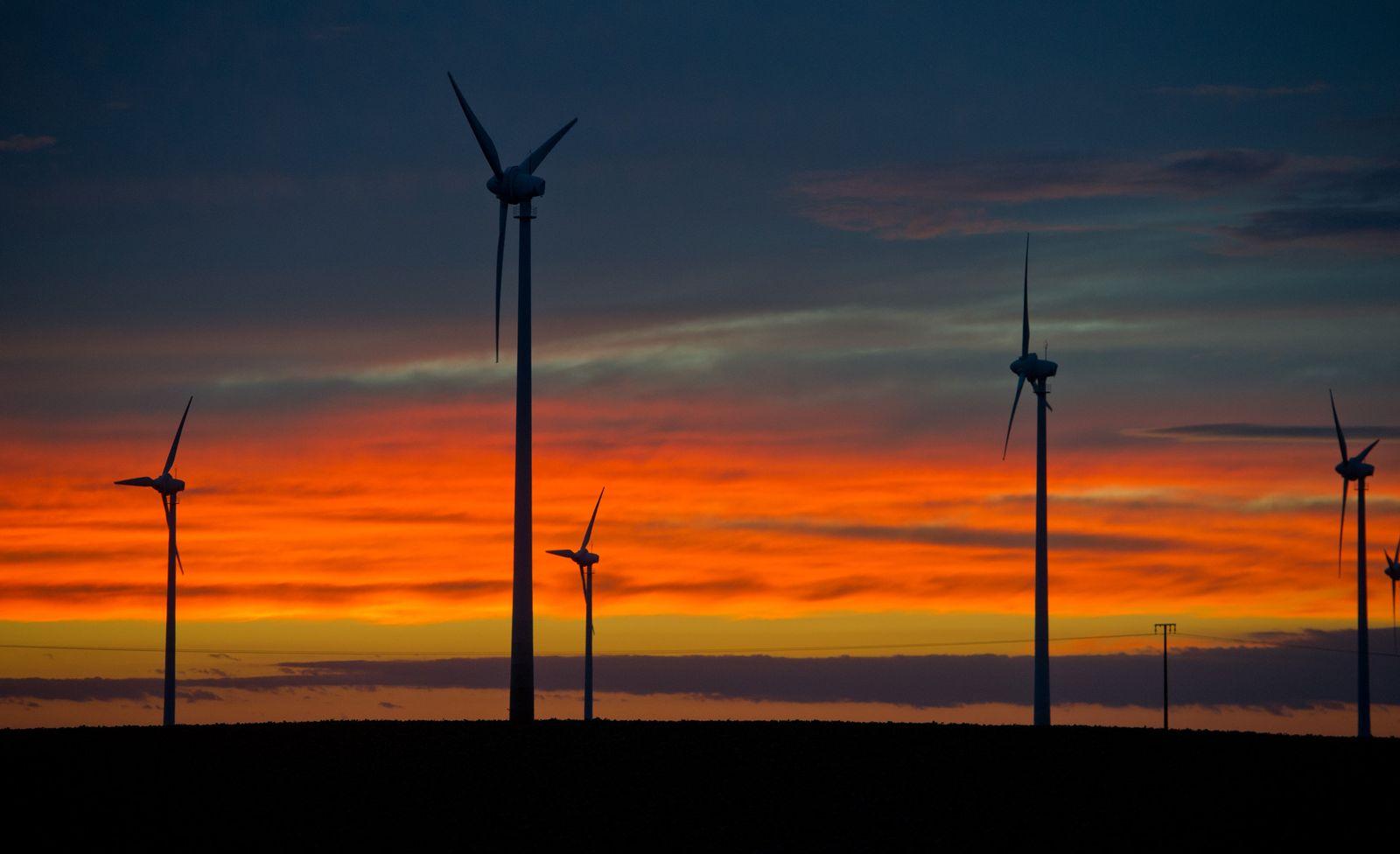 Windräder im MV Energiewende