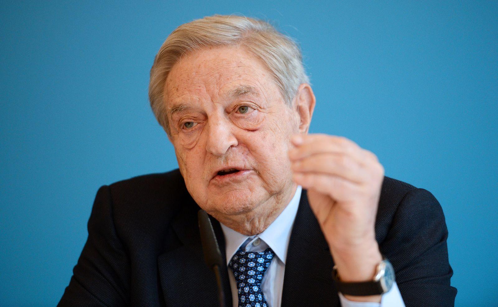 NICHT VERWENDEN George Soros