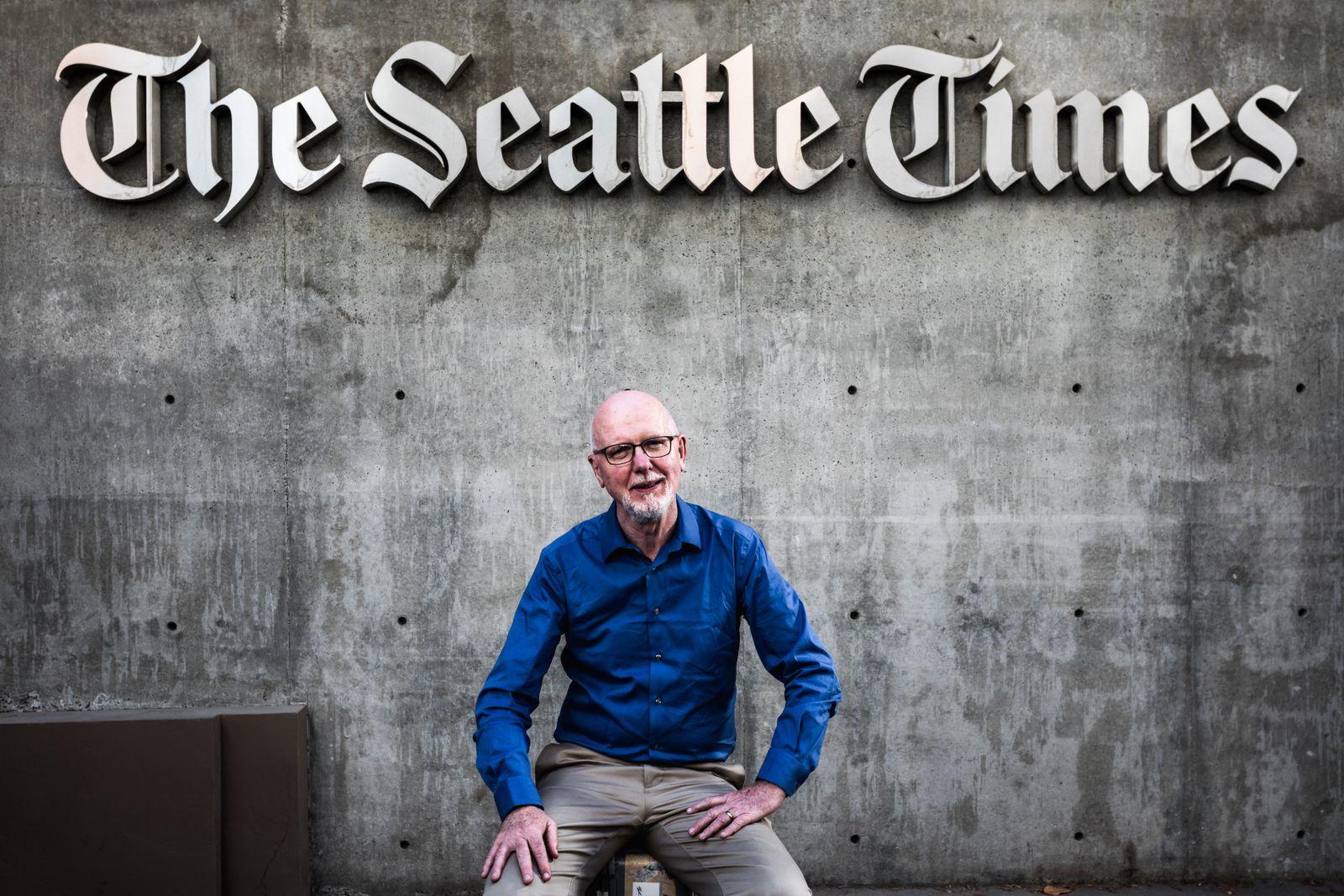 EINMALIGE VERWENDUNG Dominic Gates - Seattle Times SPIN DER SPIEGEL 32/2019 S. 21