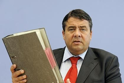 German Environment Minister Sigmar Gabriel.