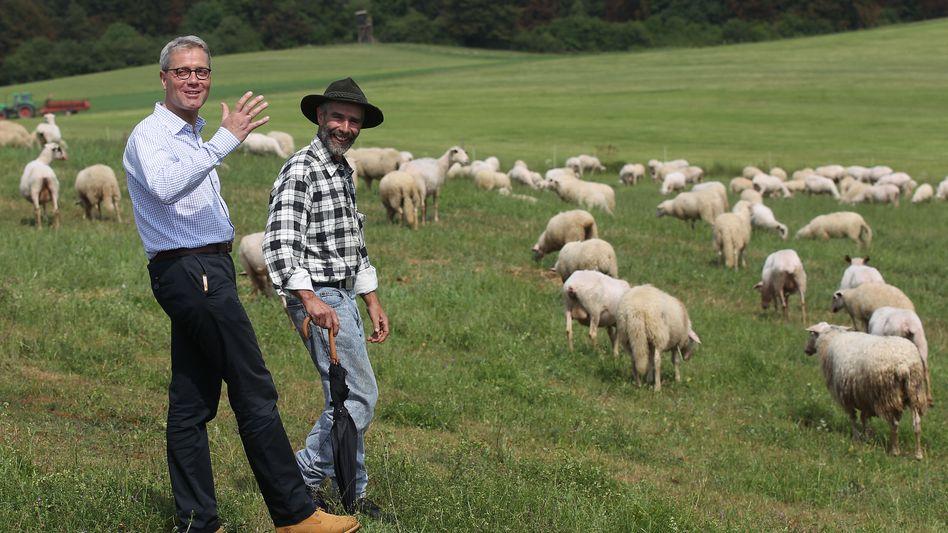 Umweltminister Röttgen in der Eifel: Heimat neu entdecken