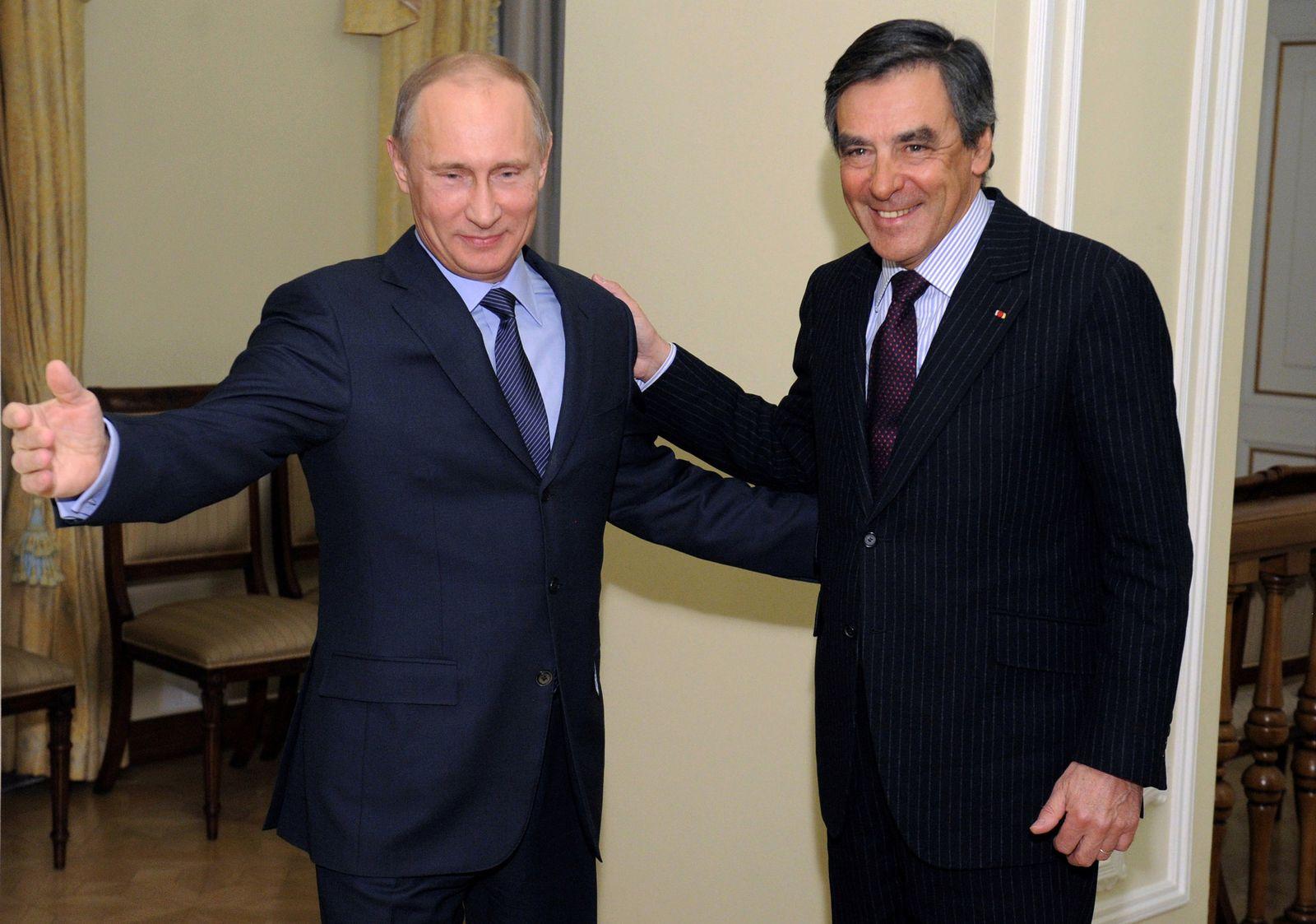 Wladimir Putin / Francois Fillon
