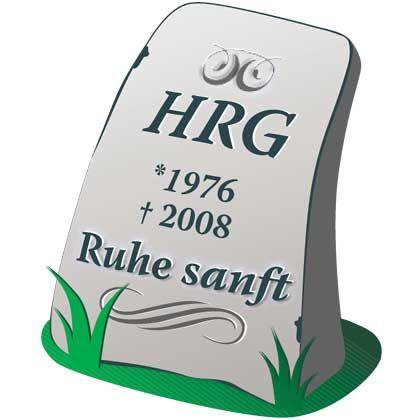 Keine Hoffnung für das HRG: Sein Todejahr steht bereits in Stein gemeißelt