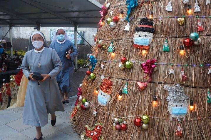 Heiligabend auf Bali, Indonesien: Auch hier verläuft das Fest ein bisschen anders als in früheren Jahren