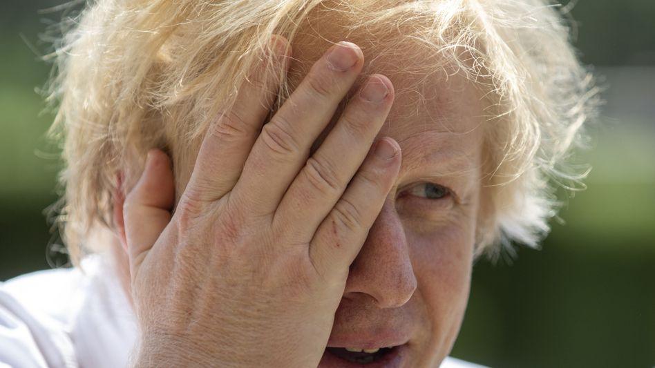 """Hat Corona hinter sich: Boris Johnson sagt, er sei fit wie der sprichwörtliche """"Metzgershund"""""""
