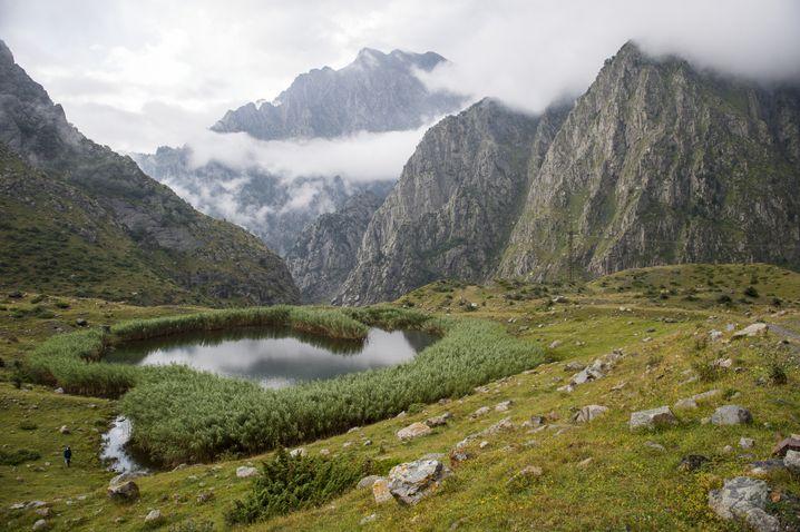Bergwelt in Georgien: noch in Arbeit ist der Transcaucasian Trail