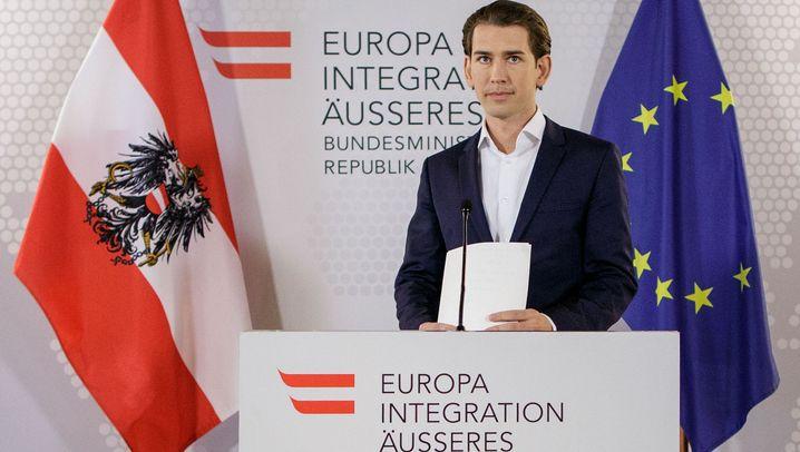 Regierungskrise in Österreich: Kern, Kurz und Co.