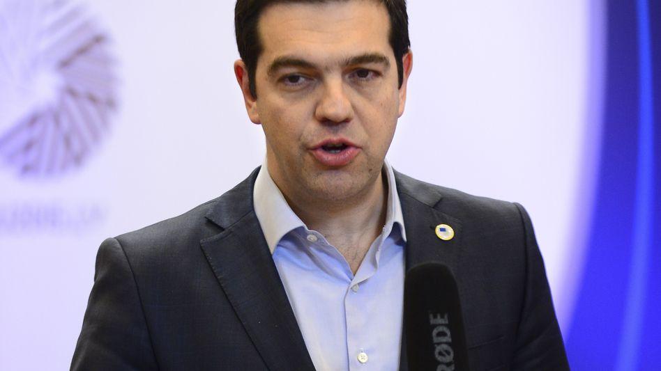 "Griechenlands Ministerpräsident Tsipras: ""Wir dürfen nicht panisch werden"""