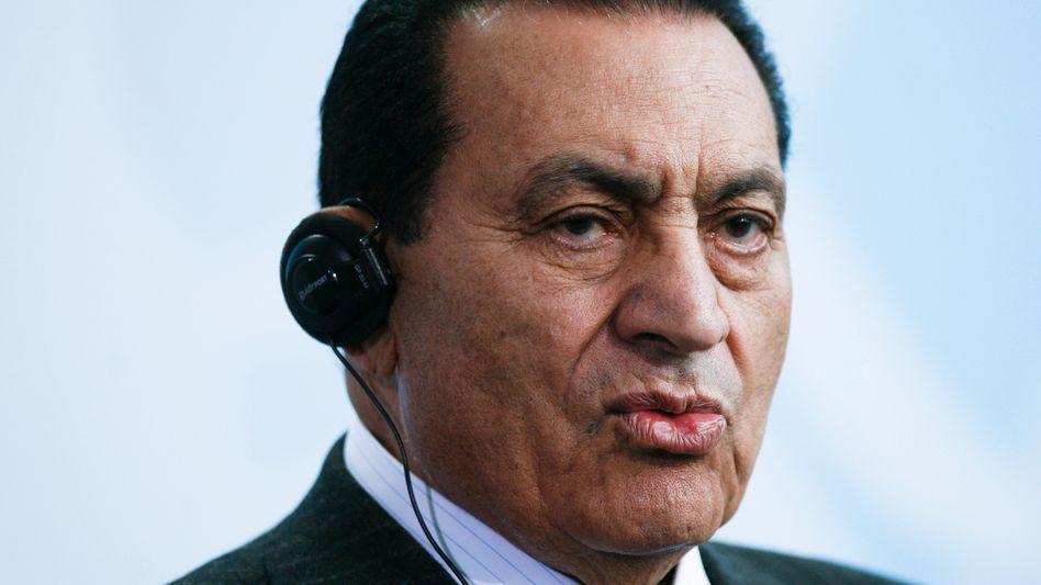 Ägyptens Präsident Mubarak: Erfolgreicher Eingriff