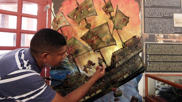 Goldschatz von Schiffswrack: Zoff unter Wasser