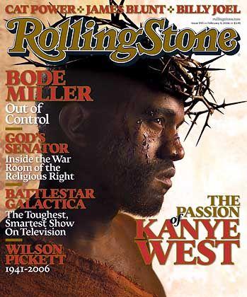 Rap-Star West: Glaube an Gott und Geld
