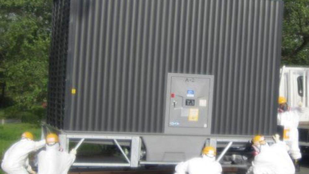 Fukushima: Arbeiten am Unglücks-AKW