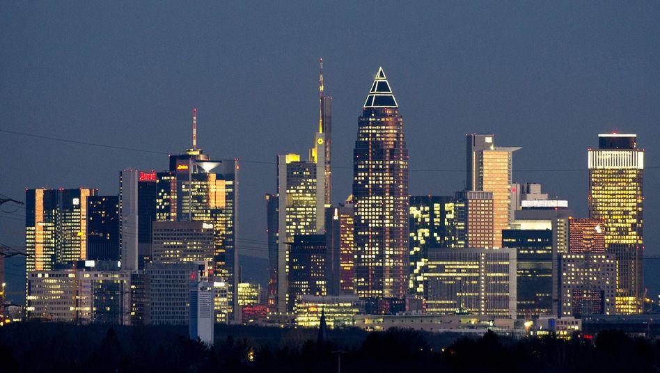 Frankfurt, the financial capital of Germany