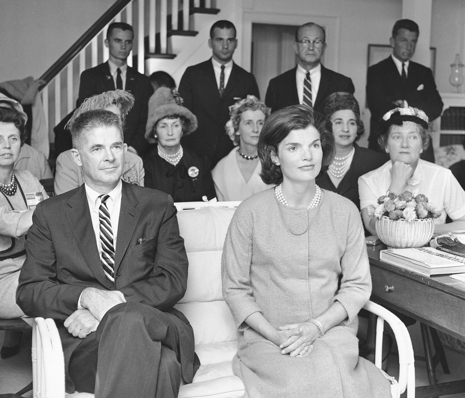 Jacqueline Kennedy and Archibald Cox