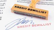 Machen Sie Pause vom Kredit