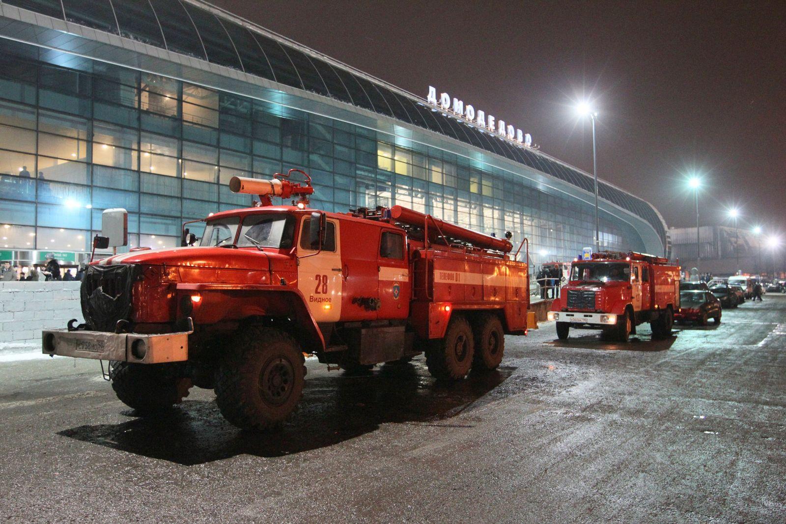 Moskau/ Anschlag/ Domodedowo Flughafen VID