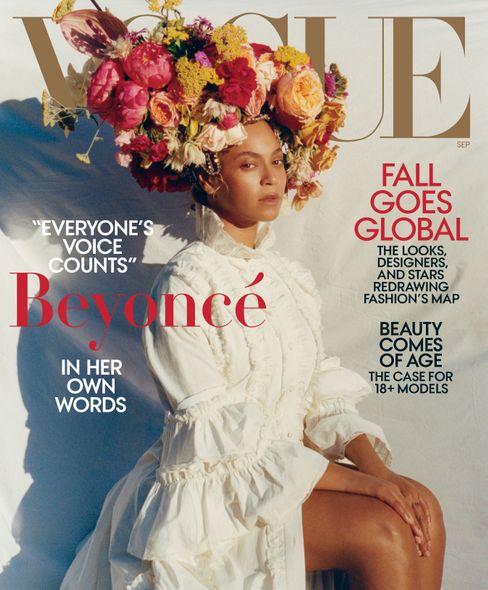 """Mit Beyoncé ist er on """"Vogue"""""""