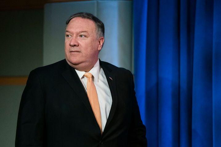 US-Außenminister Mike Pompeo: Hardliner in Iran-Fragen