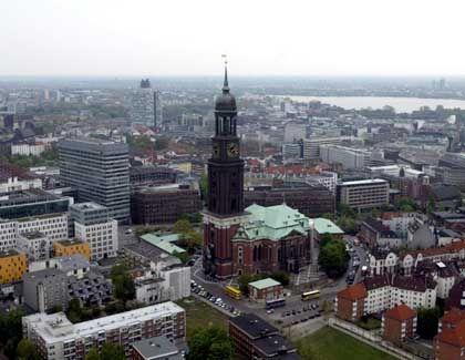 Hamburg und seine St.Michaelis-Kirche: Plötzlich zitterte die Erde