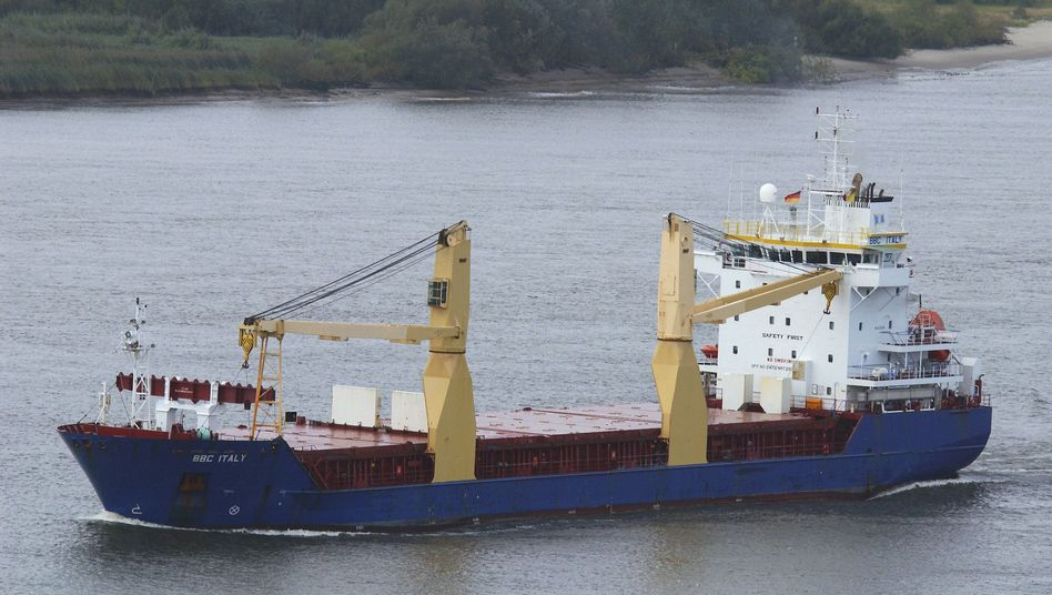 "Archiv-Foto der ""Atlantic Cruiser"" (mit anderem Charternamen): Heikle Ladung"