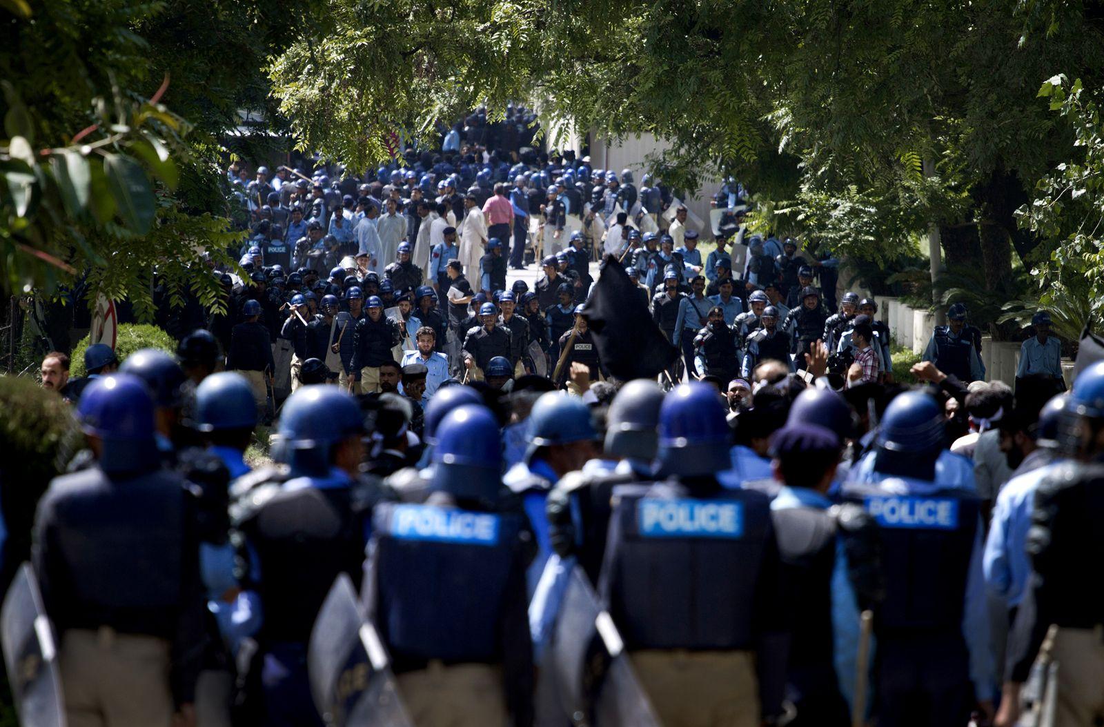 Pakistan/ Mohammed/ Proteste