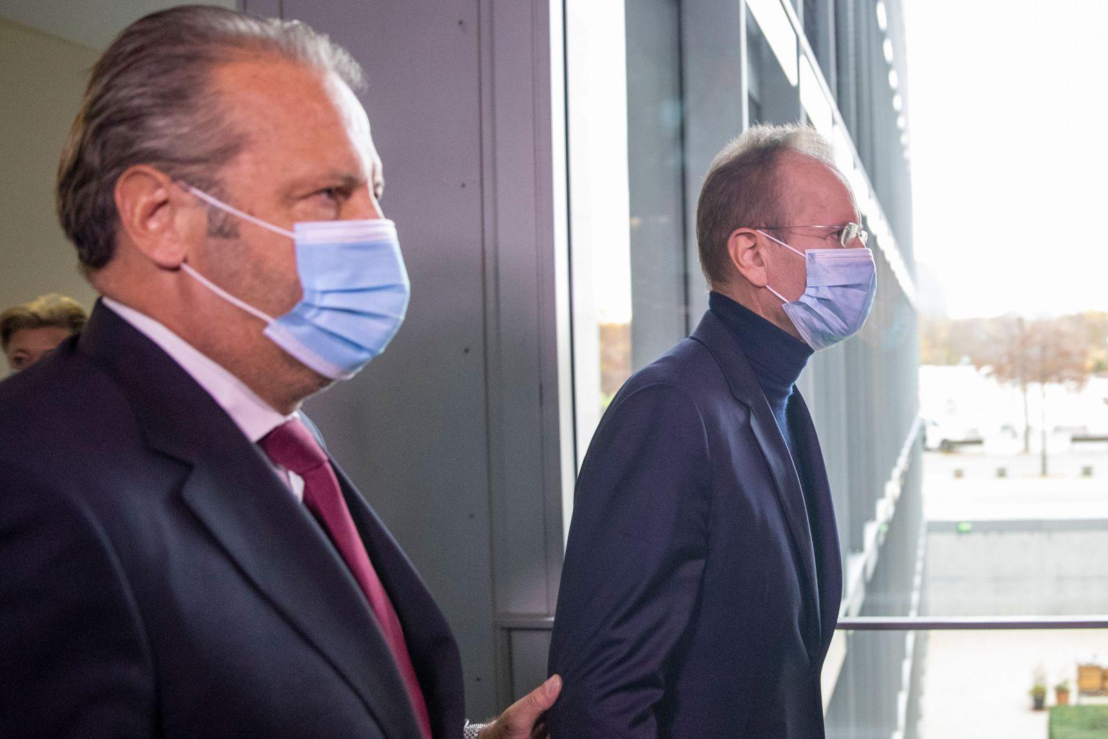 Markus Braun Testifies In Wirecard Commission, Berlin, Germany - 19 Nov 2020