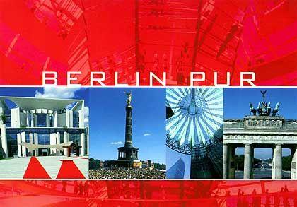 Berlin-Postkarte