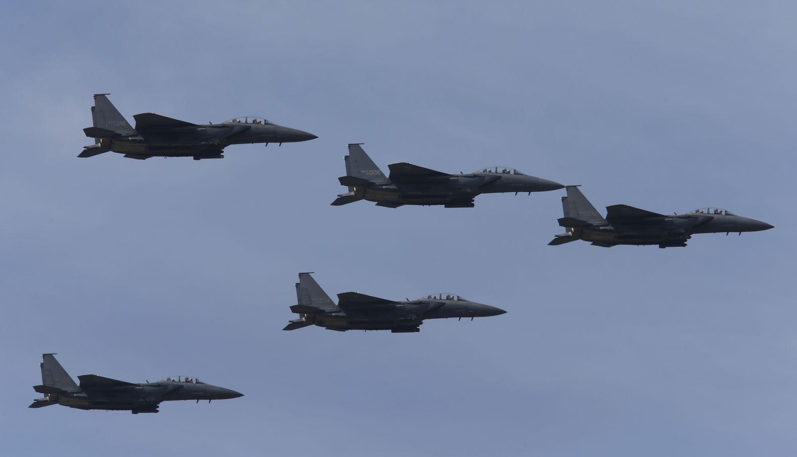 Süd Korea Kampfjets