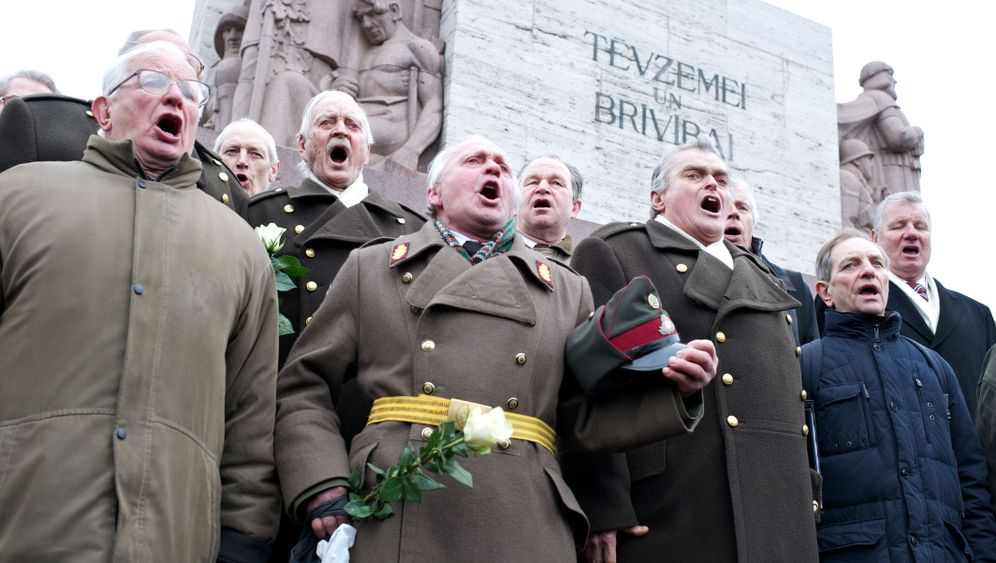 Riga: Aufmarsch der Waffen-SS-Veteranen