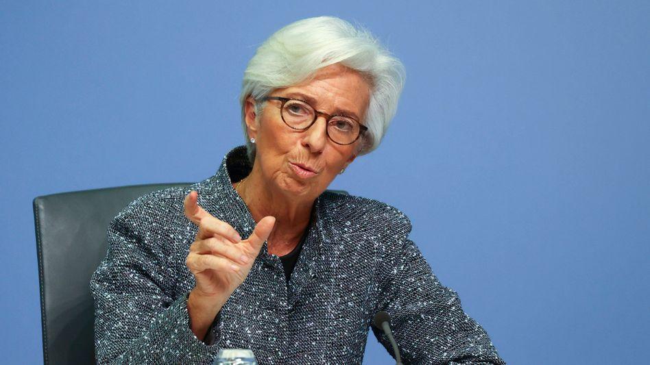 EZB-Präsidentin Christine Lagarde: »Es wird noch einige Zeit dauern, bis die negativen Folgen der Pandemie beseitigt sein werden«