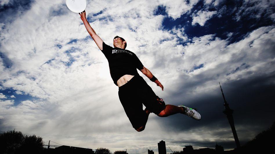 Ultimate Frisbee-Spieler Zev Fishman