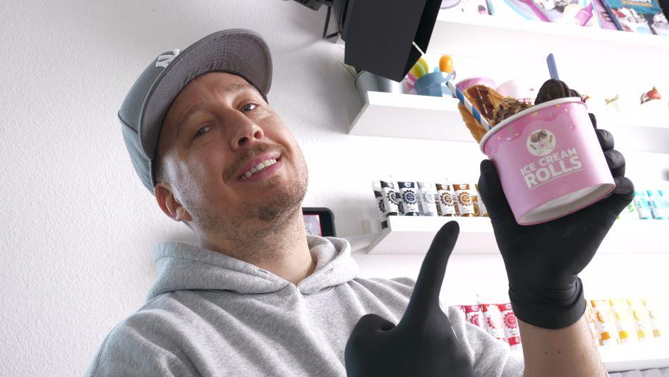Eiscreme-Macher Gil Grobe: Auf YouTube hat er zehn Millionen Abonnentinnen und Abonnenten