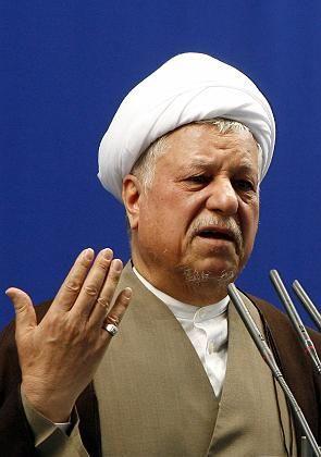 Ex-Präsident Rafsandschani: Gegner des jetzigen Regierungschefs