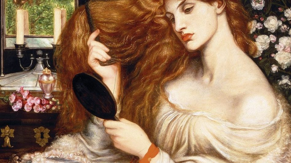 Rossetti-Gemälde »Lady Lilith« 1868