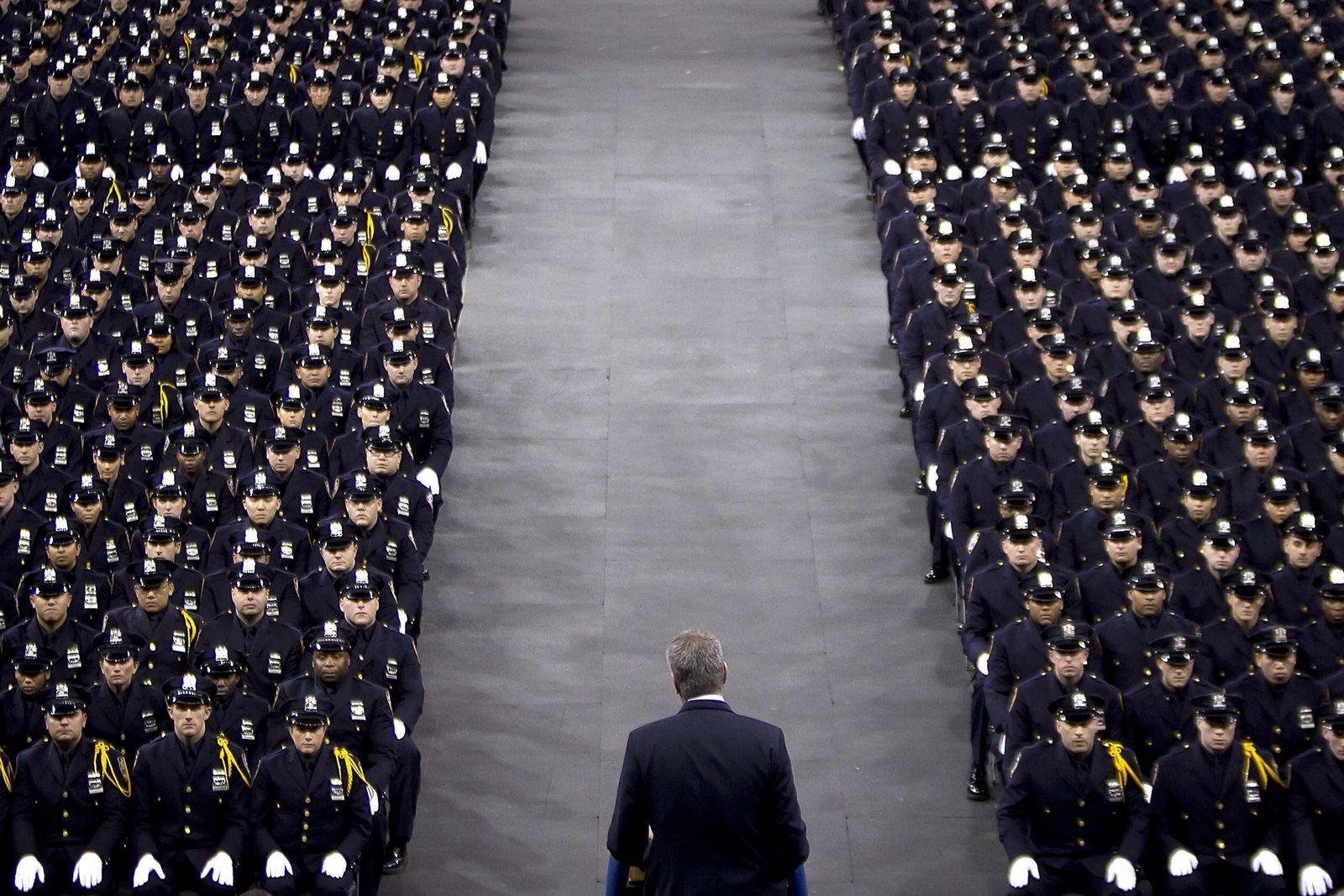 NYPD de Blasio