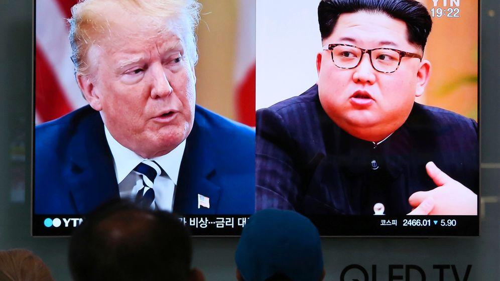 Trump und Kim in Singapur: Die Gesichter des Gipfels