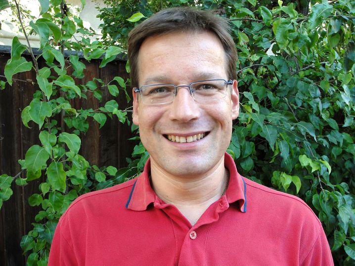 Rolf Linse, 44, unterrichtet seit drei Jahren Deutsch, Spanisch und Französisch an der Deutschen Internationalen Schule im Silicon Valley, USA