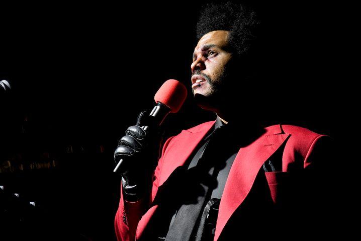Abel Makkonen Tesfaye alias The Weeknd bei den MTV Music Awards im August in New York