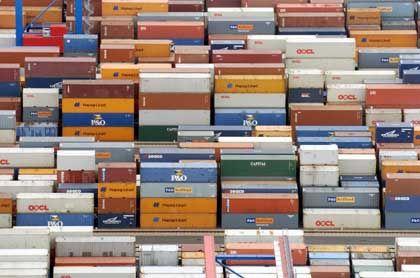 """Container: Kein """"geräuschloser"""" Abbau des US-Defizits"""