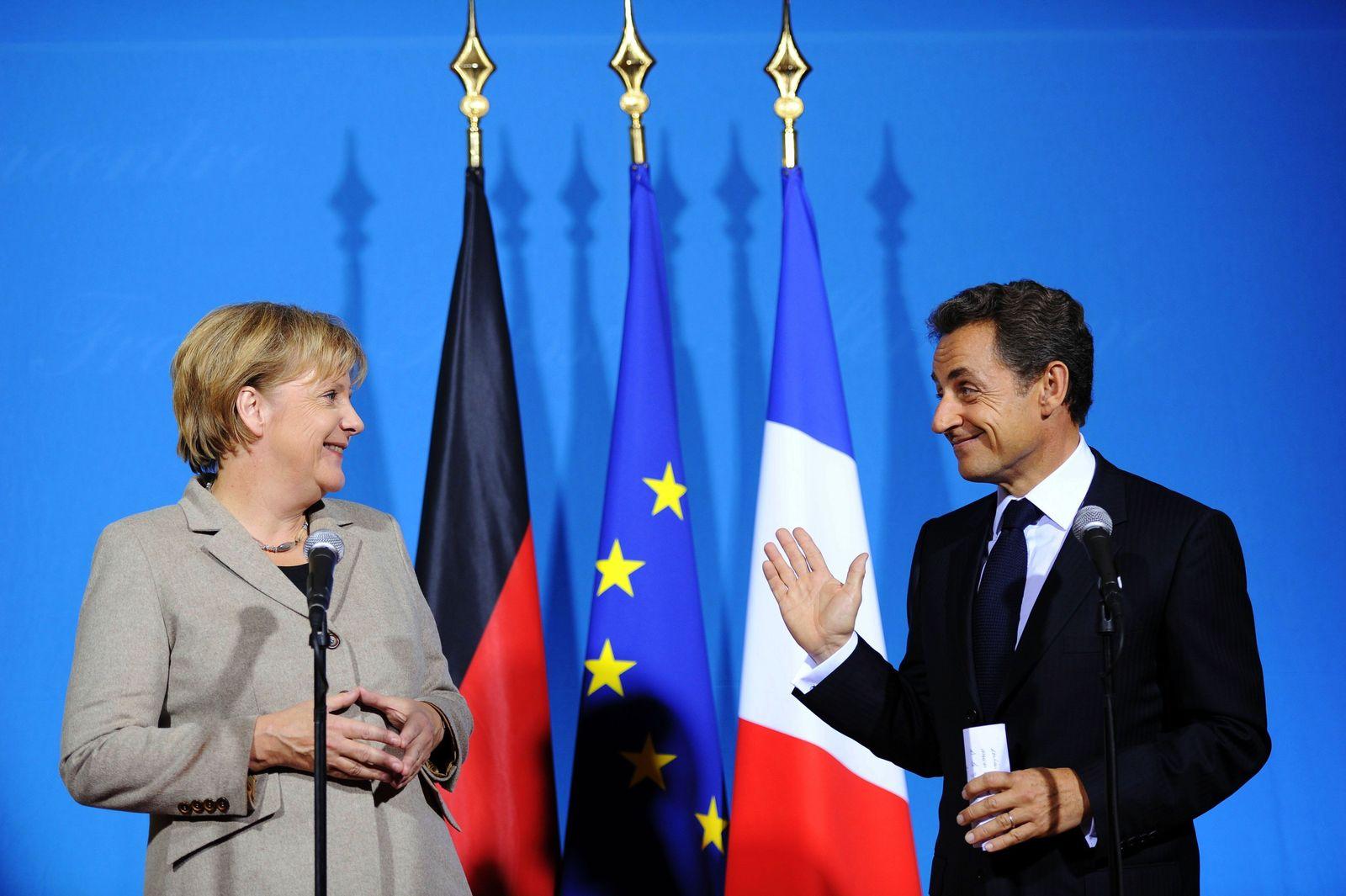 Merkel / Sarkozy / Deauville