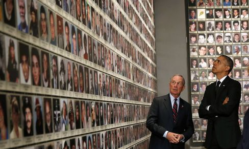 Michael Bloomberg mit Barack Obama