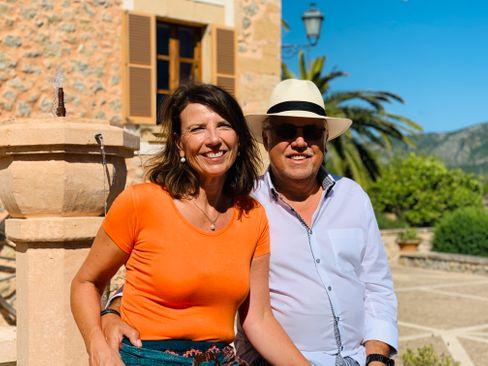 Christiane und Norbert Amthor führen auf Mallorca ein Finca-Hotel