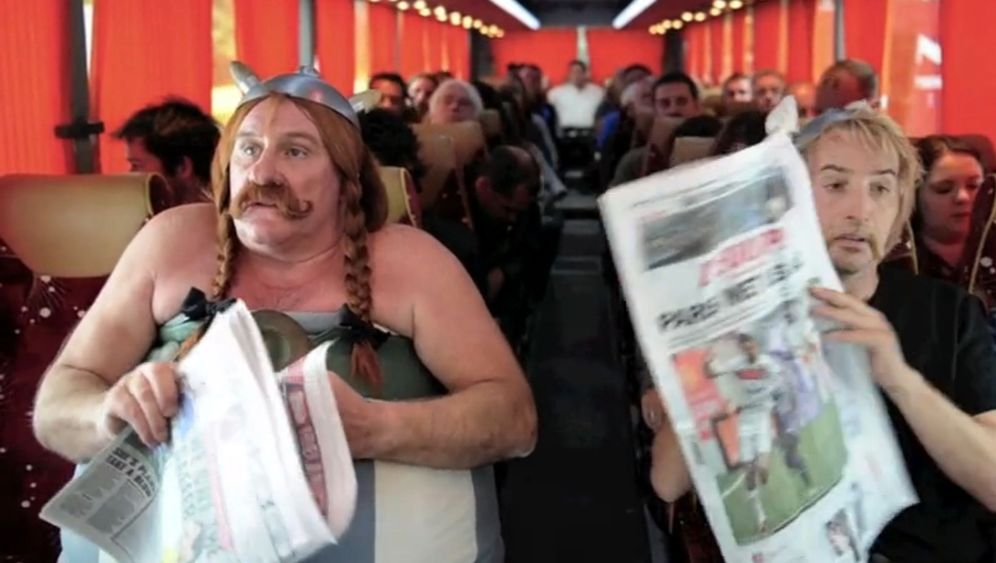 Gérard Depardieu: Malheur im Flieger