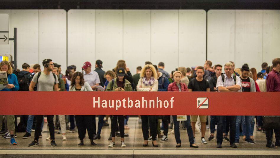 U-Bahn-Haltestelle in München