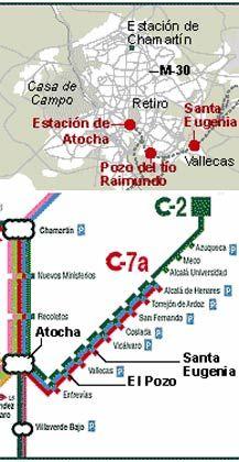 U-Bahnnetz: Anschläge auf der Linie C-2